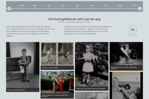 Screenshot der Website zur Aktion